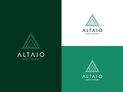 Altaio Branding mountain nature cannabis design cannabis branding cannabis typography design brand brand identity brand design logodesign branding logo
