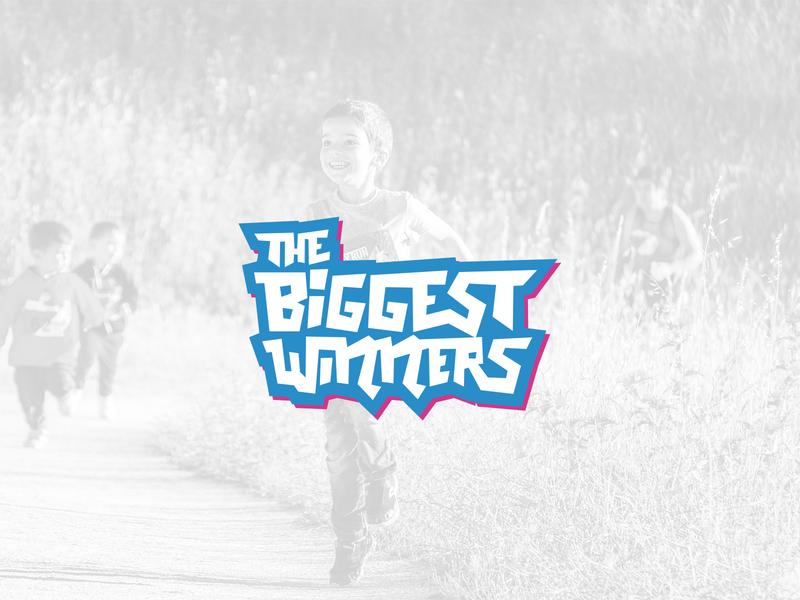 The Biggest Winners handmadetype handmade typography brand brand design logodesign branding logo
