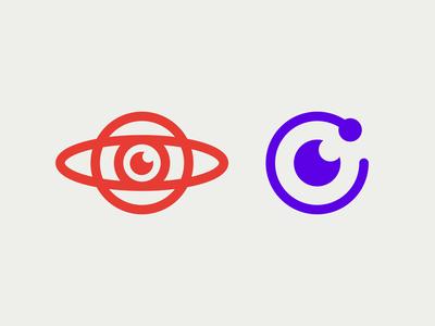 Orbit - Letter O + Eye
