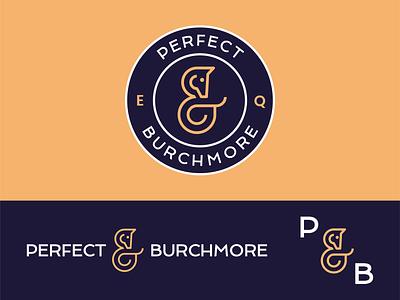 Perfect Burchmore Equestrian - Logo Design sport crest shield horse logo pony blue negative space equestrian ampersand horse logotype logomark identity symbol line art type branding mark icon logo