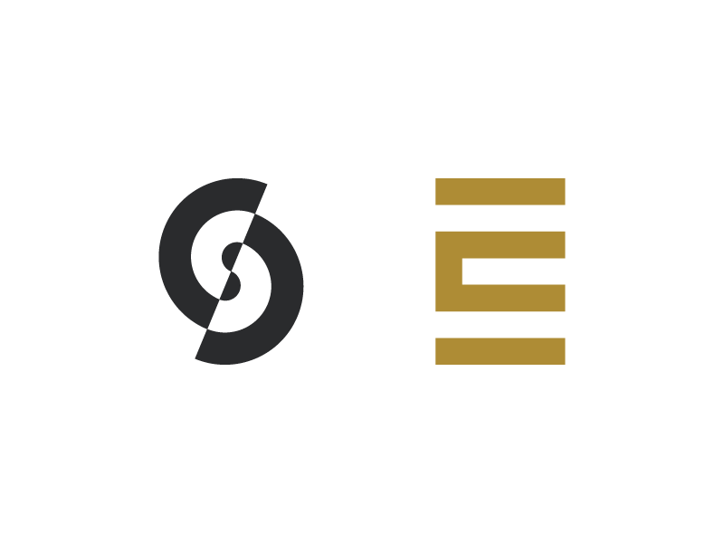 Es Monogram Concepts By Nick Budrewicz On Dribbble