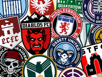 Football/Soccer Crests Collection - Volume 02