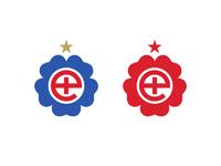 Minimal England Crest - English Rose