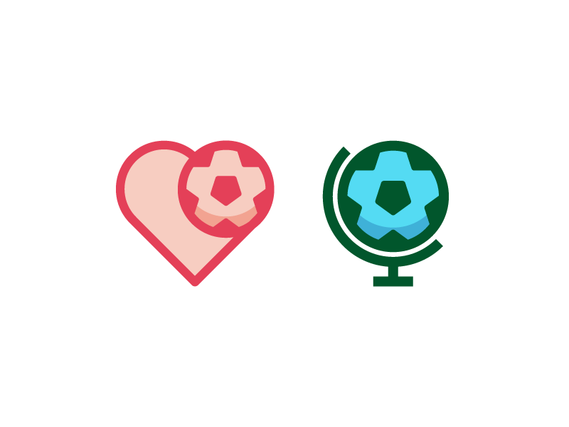 Love The World Cup world cup logo type branding negative space soccer mark symbol icon vector line
