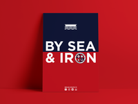 By Sea and Iron - Poster Designs