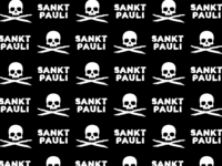 Pattern - FC St. Pauli - Skull and Crossbones