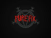 Pure Fix Metal Logo
