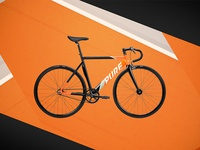 Pure Cycles Detraux - Track Bike Design