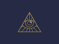 Pure Cycles Secret Society Eye Icon