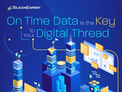 Silicon Expert Digital Thread Infographic