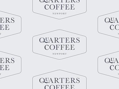 Quarters Coffee logo community barista service shop wales newport quarters coffee logo