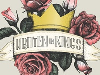 'Written In Kings' logo