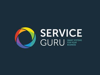 Serviceguru business management system design guru logo service serviceguru