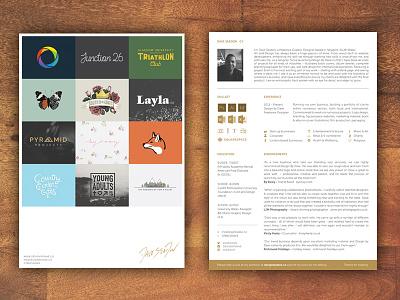 Creative CV 2016 endorsements skill-set experience work logofolio profile application job freelance design creative cv