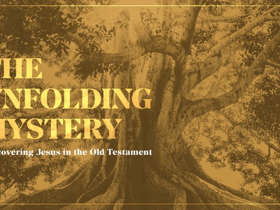 The Unfolding Mystery - Sermon series artwork teaching preach gospel mystery tree bible jesus old testament church sermon