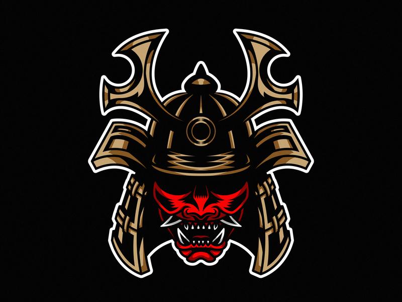 Samurai design vector illustration