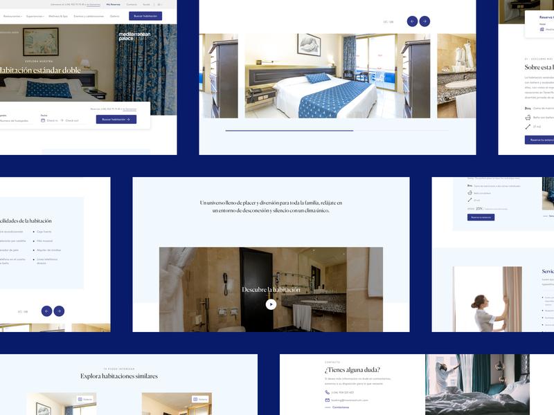 MareNostrum® deluxe resort full web redesign
