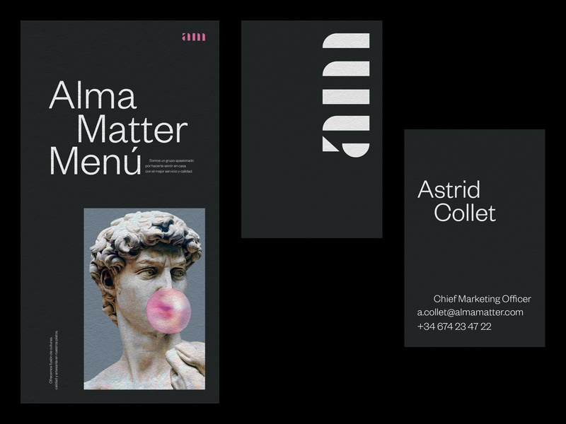 Alma Matter® Identity identitydesign identity brand typography logo graphic design design branding
