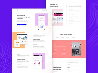 Web design for Nilo®