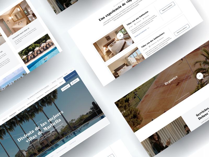 Don Carlos® web redesign.