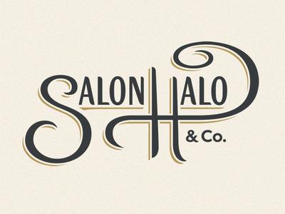 Salon Halo Logo