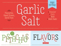 Garlic Salt Font