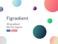 Figradient - Free Gradient Figma Fills design gradient ui design