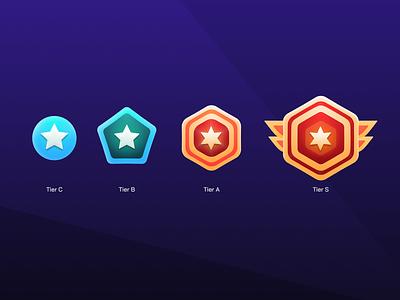 Tiers illustration game level level up figma art figma game design levels