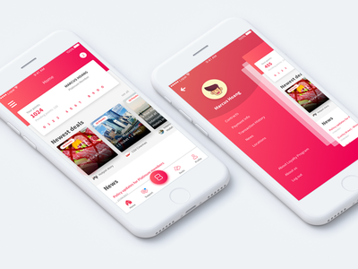 Lopal - Customer care app ios gradient app