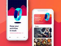 Menutri - Fitness food app