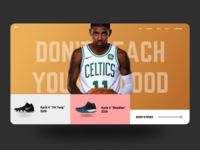 Kyrie Basketball Shoes Microsite