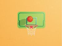 Basketball Play Drawing