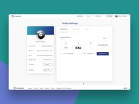 Web Interactions - Profile Settings