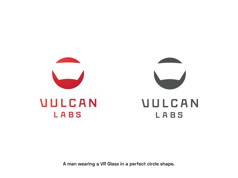 Vulcan Labs Logo - Rejected Version