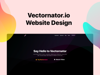 Vectornator on Behance