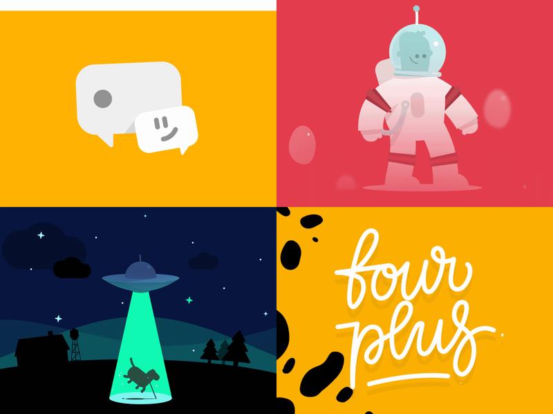 Best of 2018 logo freebie vector design illustrator flat after effects motion graphics arsek illustration animation