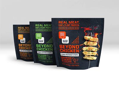 Iron + Fire + Meat packaging photography meat vegan vegetarian chicken fork flame fire iron steve bullock beyond meat