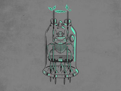 Vacuume Tube Beetle