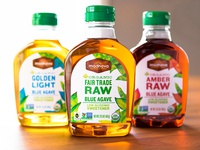 Madhava agave syrup packaging