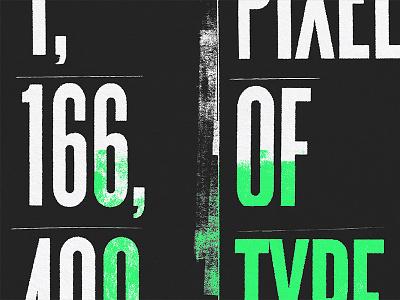 Analog to Digital steve bullock pixel ink typography