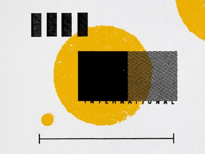 Ephemeral Appropriation steve bullock overprint halftone geometric