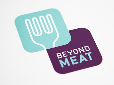 Beyond Meat Logo steve bullock beyond meat logo fork enclosure illustration escher optical illusion