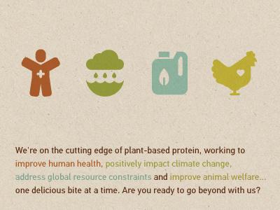 Beyond Meat Brand Icons beyond meat icons man health water cloud bottle leaf chicken heart vegan meat steve bullock