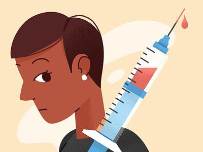 Vaccines immunization health medical healthcare flu coronavirus covid covid-19 vaccine texture design illustration character