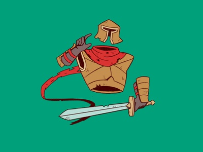 Invisible ghost phantom invisible sword gladiator roman warrior knight soldier