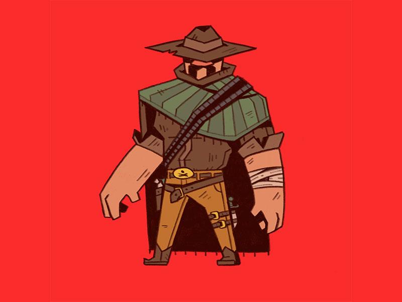 Gunslinger By Hayden Aube Dribbble Dribbble