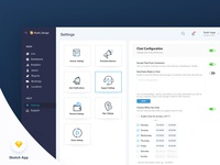 Settings Page-Dashboard