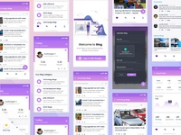 Google Blog App UI kit