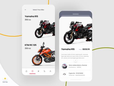 Bike Management iOS App v4 UI Kit