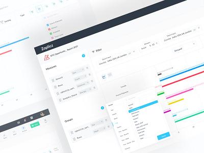 Report Builder for Analytics Ui chart analytics crm ui minimal